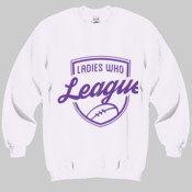 Jumper: Ladies who League Unisex (Comes in Assorted Colours)
