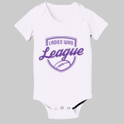 Onesie: Ladies who League (Baby)