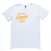 Tee: Ladies who Lineout Mens (Comes in assorted colours)