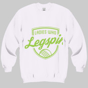Jumper: Ladies who Legspin Unisex (Comes in assorted colours)