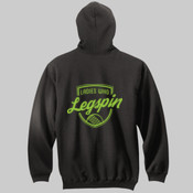 Hoodie: Ladies who Legspin Unisex (Comes in assorted colours)