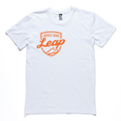 Tee: Ladies who Leap Mens (Comes in assorted colours)